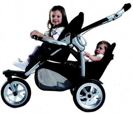 Какую выбрать коляску для детей-погодок