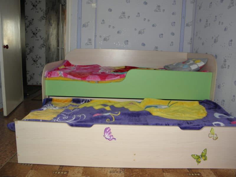 Кроватка для погодок