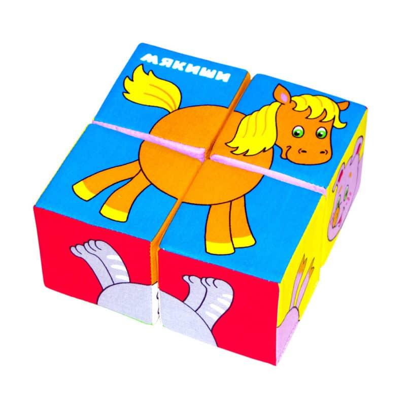 Развивающие игры для детей. Кубики Мякиши