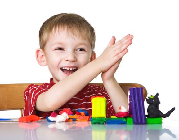 Творческие игры для ребенка до 5 лет