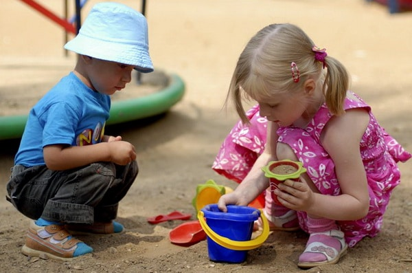 как научить детей делиться