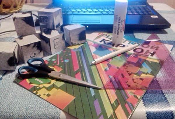 Что понадобится для изготовления кубика трансформера