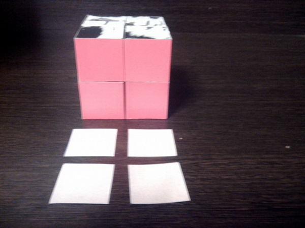 как легко сделать кубик трансформер пазл своими руками