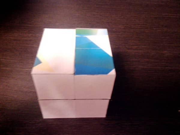 как собрать кубик пазл