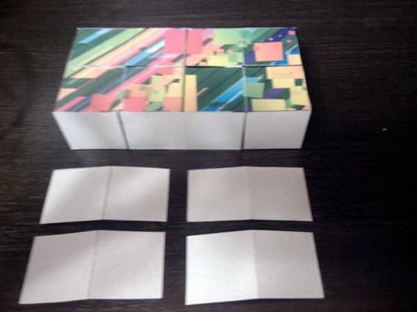 как собрать кубик пазл своими руками