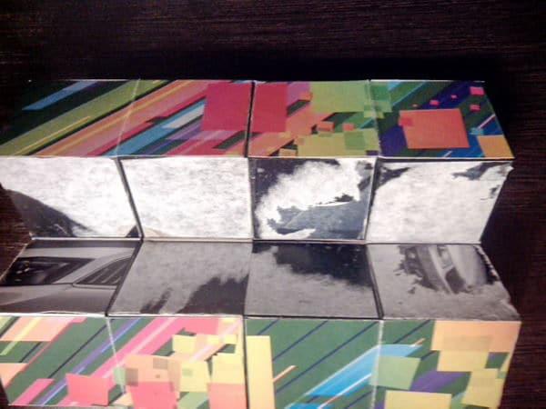 как собрать кубик трансформер