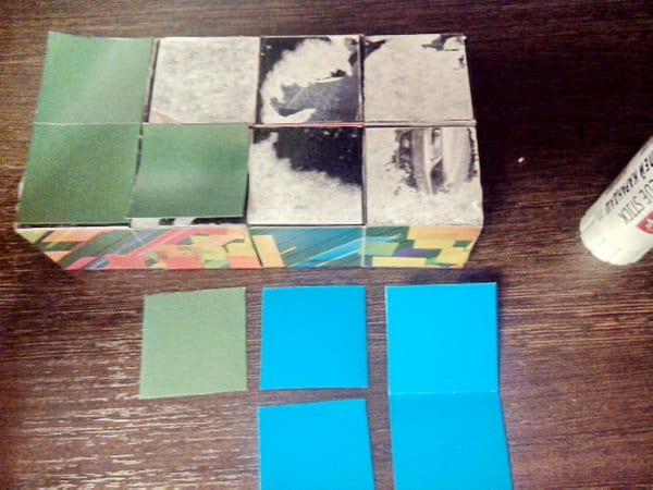 собираем кубик пазл