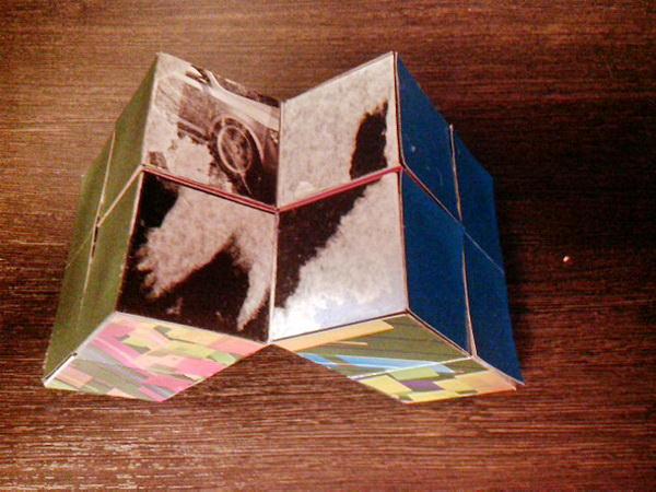 складываем кубик пазл