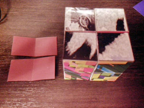 складываем кубик трансформер