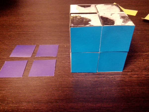 как сделать кубик головоломку