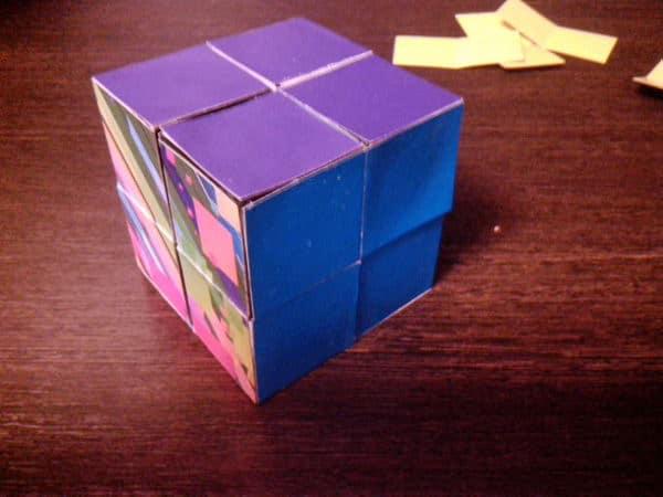 кубик трансформер своими руками