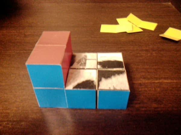 как сделать кубик пазл головоломку