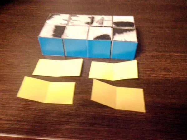 как сделать кубик трансформер головоломку