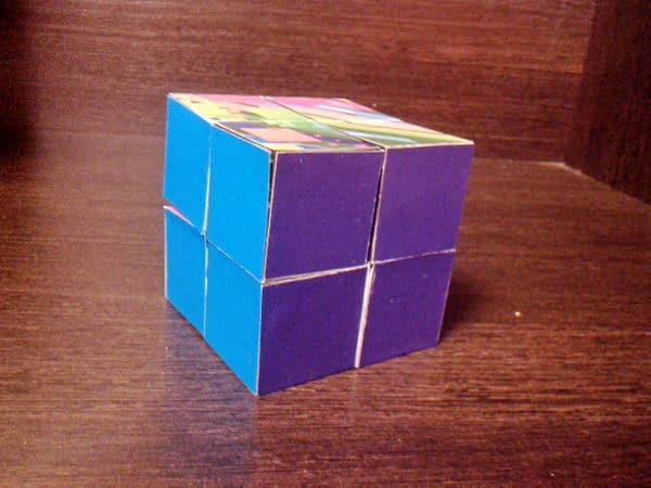 кубик-пазл своими руками