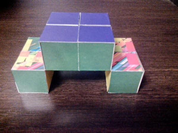 как сделать кубик трансформер своими руками