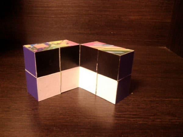 как сделать кубик пазл своими руками