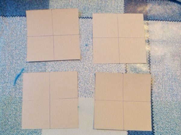 как разрезать квадраты для кубика трансформера