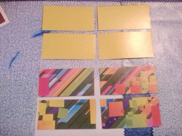 подготовка материалов для кубика трансформера