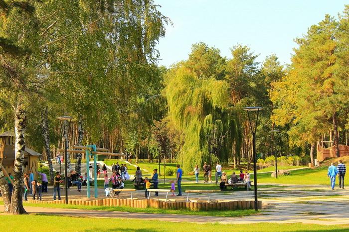 Парк Алые Паруса в Воронеже