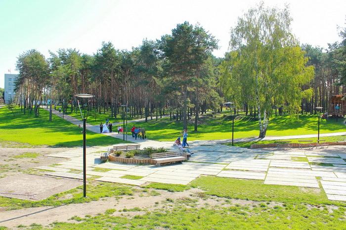 Парк Алые Паруса в Воронеже. Парк для семейного отдыха с детьми