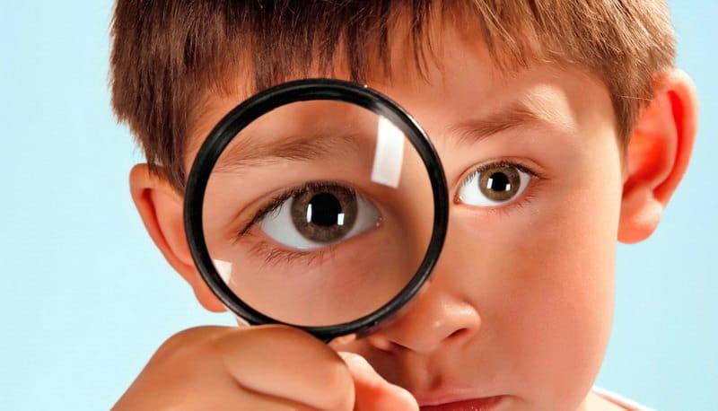 Ребенок визуал