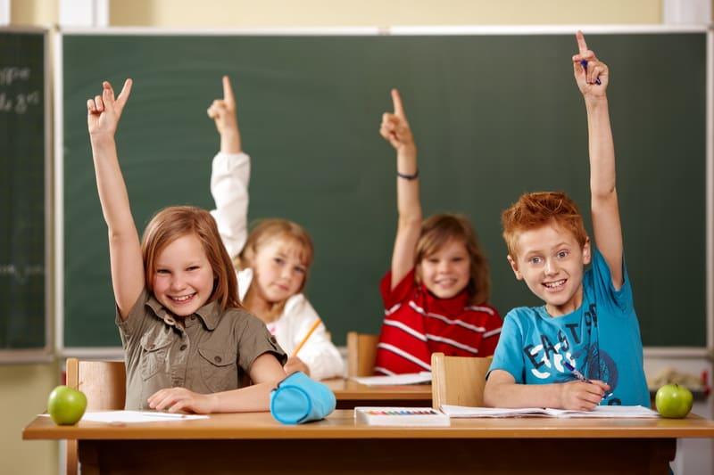 В школу в 6 лет