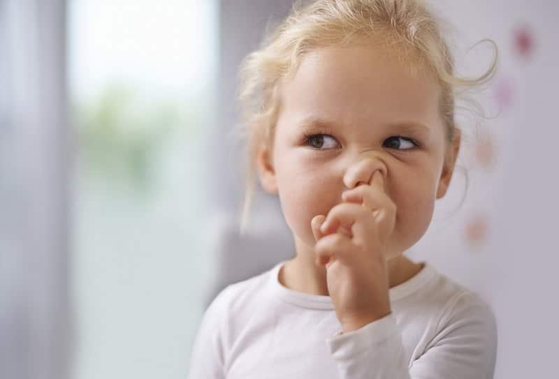 Вредная привычка ковыряние в носу