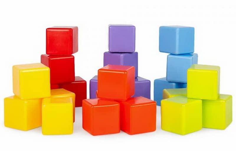 Башенки из кубиков