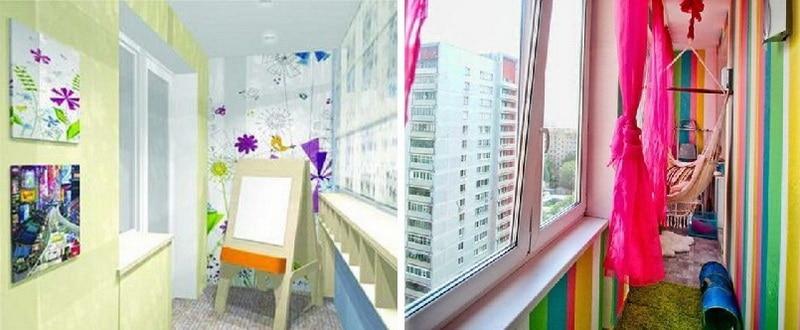 Балкон для ребенка